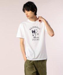POCHITAMA LAND/BASEBALL POCHI Tシャツ/501120348
