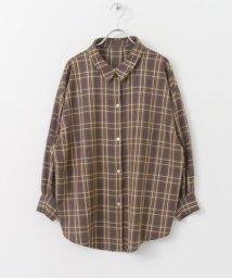 KBF/KBF+ ボーイッシュチェックシャツ/501120820