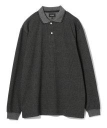 BEAMS OUTLET/BEAMS / ルーズフィット チェックポロシャツ/501120868