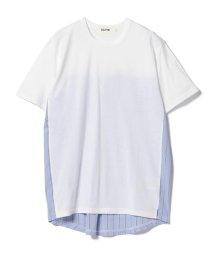 BEAMS MEN/ALOYE × BEAMS / 別注 Shirt Fabric T-shirt/501052035