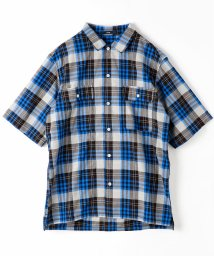 vital/チェック柄半袖シャツ/501102872