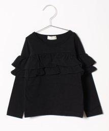 b-ROOM/フリルTシャツ/501114258