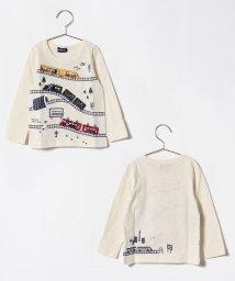 kladskap/シロクマ電車Tシャツ/501114261