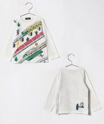 kladskap/トレイン&アニマル柄Tシャツ/501114263