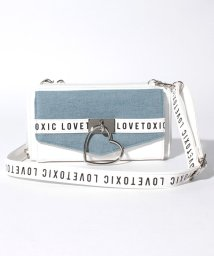 Lovetoxic/ロゴストラップ財布ショルダーバッグ/501114292