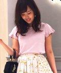 Noela/【Steady.9月号掲載】スカラップニット/501115746