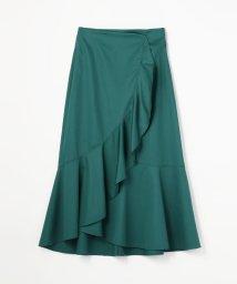 Ballsey/モダンコットン ラッフルラップスカート/501120902