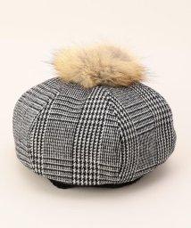 FREDY&GLOSTER/ファーぽんぽんベレー帽/501120923