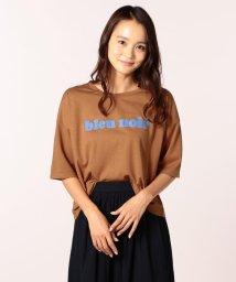 FREDY&GLOSTER/ショート丈プリントTシャツ/501121047