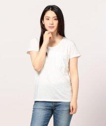 FREDY&GLOSTER/ピグメント染めクルーネックポケットTシャツ/501121061