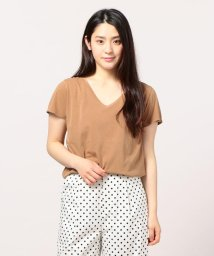 FREDY&GLOSTER/ピグメント染めVネックTシャツ/501121062