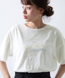 URBAN RESEARCH Sonny Label/USEDプリントTシャツ/501121526