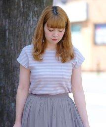 ANDJ/フレンチスリーブサーマルポケットTシャツ/501122647