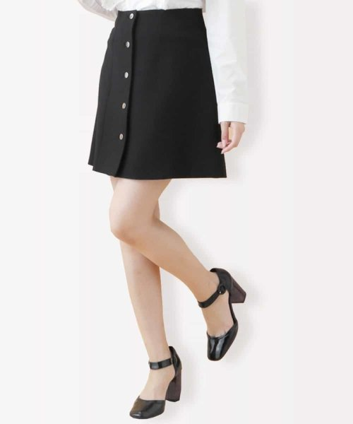 Tara Jarmon(タラ ジャーモン)/【ドラマ着用】TOILE DOUBLE 台形スカート IMPORTED/VZHLE17390