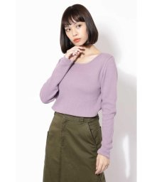 ROSE BUD/【otonaMUSE11月号掲載】ワッフルロングTシャツ/501123139
