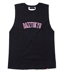 razz/RAZZIS【ラズ】バックライン切替天竺ノースリーブシャツ/501123734