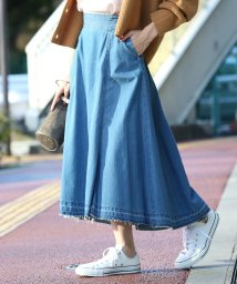 ROPE' mademoiselle/【woad blue】×【ROPE'mademoiselle】マキシデニムスカート/501124238
