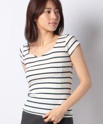 ROYAL PARTY/ハートネック半袖Tシャツ/501114785