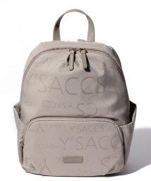 Y'SACCS/ロゴジャガード リュック/501115403