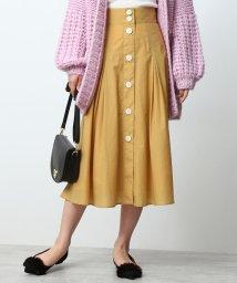 ROPE' mademoiselle/タフタタックフレアスカート/501124240