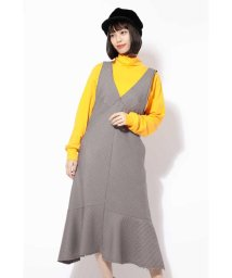 ROSE BUD/裾フレアジャンパースカート/501124586