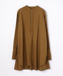 MACPHEE/【WEB先行予約】コットンドビーコンビ チュニックシャツ/501125616