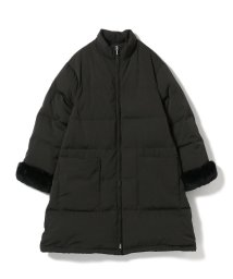 BEAMS OUTLET/Demi-Luxe BEAMS / レッキスファー ダウンコート/501125738
