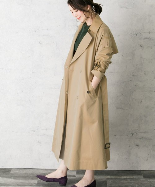 URBAN RESEARCH ROSSO ロングトレンチコート