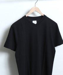 coen/サーフニットVネックTシャツ/501113745