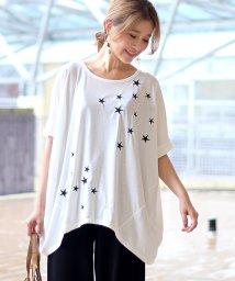 Bou Jeloud/星刺繍BIG Tシャツ/501118645
