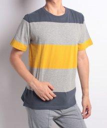 nano・universe/:パネルボーダーTシャツS/S/501118870