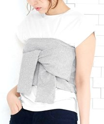 KOBE LETTUCE/カットリボンビスチェ+Tシャツセット/501120466