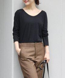 IENA/《予約》AURALEE SEAMLESS ラウンドネックロングスリーブTシャツ◆/501127185