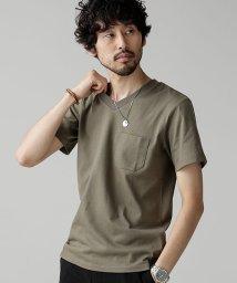 nano・universe/Anti Soaked ヘビーVネックTシャツ/501127200
