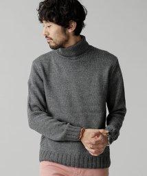 nano・universe/イタリー糸タートルネックニット/501127204