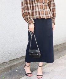 IENA/ジョーゼットロングタイトスカート◆/501127245