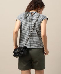 BEAUTY&YOUTH UNITED ARROWS/BY バックリボンハイネックフレンチスリーブカットソー/501127412