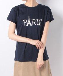 en recre/【Nouque】ロゴプリントTシャツ/501118494