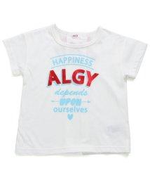 ALGY/バックりぼん箔プリントT/501123430