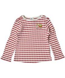 Petit jam / F.O.KIDS MART/ボーダーと柄の長袖Tシャツ/501123453