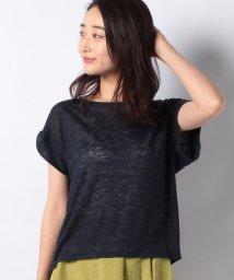INTERPLANET/プルミエルリネン100%Tシャツ/501123505