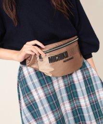 ViS/【MICHIKO LONDON KOSHINO×ViS】サテンウエストポーチ/501127801