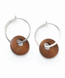 NOBLE/【V+J】wood hoop/501128153