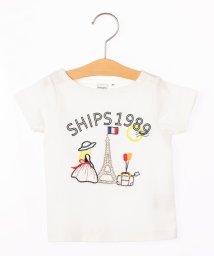 SHIPS KIDS/SHIPS KIDS:エンブロイダリー TEEシャツ(80~90cm)/501128198