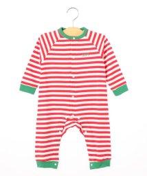 SHIPS KIDS/SHIPS KIDS:ボーダー 長袖 ロンパース/501128201