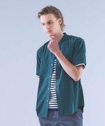 ABAHOUSE/レーヨンバンドカラーシャツ/501128246