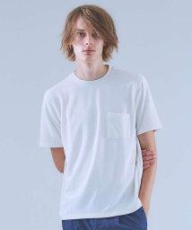 ABAHOUSE/TR鹿の子ダブルフェイスTシャツ/501132925