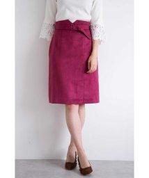 PROPORTION BODY DRESSING/シルキーフェイクスウェードタイトスカート/501128594