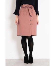 PROPORTION BODY DRESSING/サキソニーストレッチサイドボタンスカート/501128598