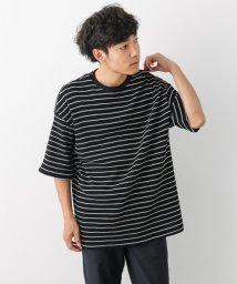 URBAN RESEARCH/【ITEMS】ワッフルボーダービッグTシャツ/501116435